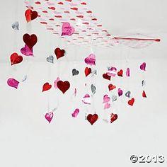Valentine Ceiling Decoration - Oriental Trading