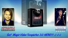 Magic Video Templates 3.0 Sales Video - get *BEST* Bonus and Review HERE...