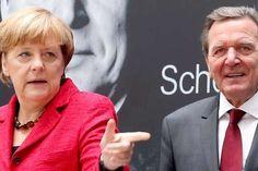 Меркель розкритикувала Шредера за бажання увійти до ради директорів «Роснєфті»