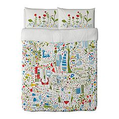 BLAD Duvet cover and pillowcase(s) - Full/Queen (Double/Queen) - IKEA ...