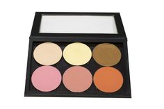PRO Z‧PALETTE fits up to 6 powder size products