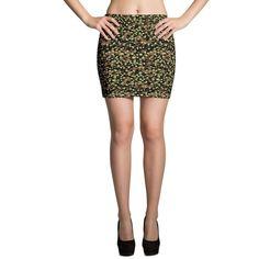 German WWII Polyspot Spring CAMO Mini Skirts