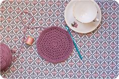 Increasing evenly in the round is a basic skill that all crocheters should know how to do. Working a circle that doesn't wave (increasing too fast) or bowl (increasing too slowly) means that you can make a nice flat-lying circle that can be used for a variety of projects - from cushion covers