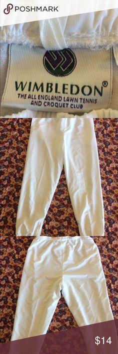 Wimbledon Medium warmup pants Wimbledon Medium warmup pants. These are in excellent used condition Wimbledon Pants Track Pants & Joggers