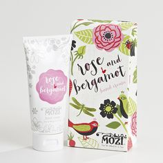 hand cream- rose & bergamot/ mozi