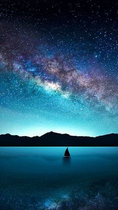 Stormfront: Someday Sail Away Into The Abandonment Of The Night. With Someone S… – Galaxy Art Night Sky Wallpaper, Wallpaper Space, Nature Wallpaper, Galaxy Wallpaper, Wallpaper Backgrounds, Nebula Wallpaper, Iphone Wallpaper, Galaxy Painting, Galaxy Art