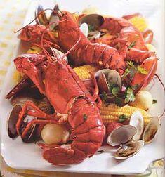 Easy Summer Clambake Recipe at Epicurious.com