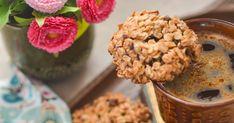 Ciasteczka owsiane z dodatkiem kawy Składniki : 150g płatków owsianych , 2 łyżki siemienia lnianego, 1 jajko , 3 łyżki m...
