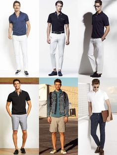 2014 Summer Capsule Wardrobe Additions: A Handful Of Polo Shirts Lookbook Inspiration