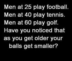 Smaller balls?
