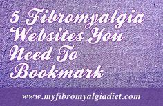 Funf Fibromyalgie-Websites, die Sie sich anschauen sollten 5 Fibromyalgia Websites You Need To Bookmark