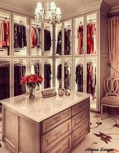 Dream closet design.