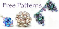 Bead Origami: Free Pattern: Candy Cubes Beaded Bead