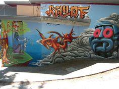 Piece By Poeta, Gerso, Kotek, Kayot - Mexico City (Mexico ...
