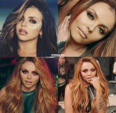 Jesy in the music video's from Glory Days