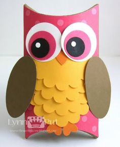 Owl Pillow Box can be done with CTMH Art Philosophy