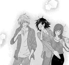 Dengeki Daisy Manga, Blue Anime, Blue Daisy, Music Mix, Boy Or Girl, Anime Art, Romance, Boys, Cute