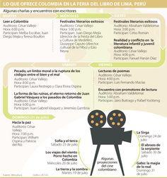 Los colombianos que estarán en la Feria del Libro de Lima Lima, Festivals, Day Planners, Activities, Limes