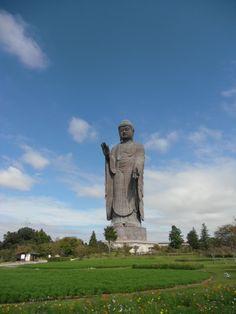 Daibutsu (great Budda) in Ushiku.