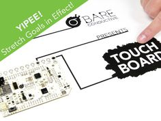 Touch Board: Interactivity Everywhere by Bare Conductive — Kickstarter