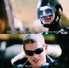 Atom and Captain Cold- Legends of Tomorrow
