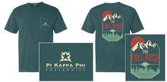 Pi Kappa Phi Fall Rush Shirt 2015 - Tilt                                                                                                                                                     More