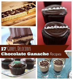 Decadent Dessert Ideas: 17 Chocolate Ganache Recipes.