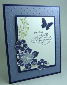 Pinterest Stampin Up Sympathy Cards | Sympathy card