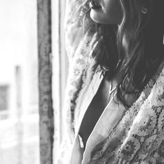 Lace Crochet Kimono & Lariat Necklace by myfashionfruit.com