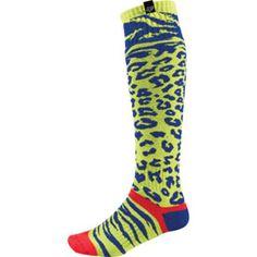 Fox Racing MX Cheetah Ladies Socks 2014