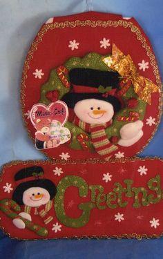 A-Juego de baño Nieve Greeting Winter Christmas, Christmas Holidays, Christmas Ornaments, Unique Christmas Decorations, Holiday Decor, Christmas Bathroom Sets, Decor Crafts, Diy And Crafts, 242