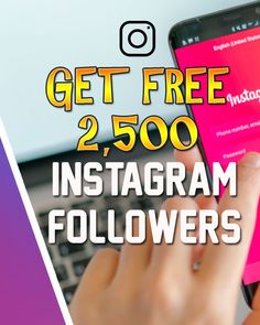 How to get free Instagram followers free ig followers free followers on Instagram