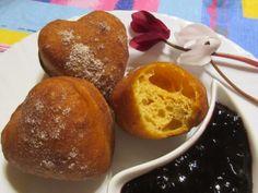 Joghurtos édesburgonyafánk Muffin, Breakfast, Recipes, Food, Anna, Kitchen, Morning Coffee, Cooking, Essen