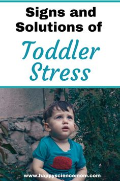 Signs and Solutions of Toddler Stress