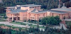 The Turkish presidential palace. It once belonged to the Kasabian family, which was massacred during the Armenian Genocide.