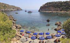 Anthony Quinn Bucht auf Rhodos nahe Faliraki