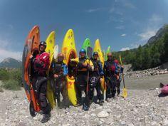 French Alps Kayaking, 2013 Kayak Adventures, French Alps, Kayaking, Kayaks