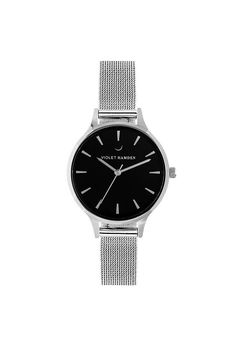 Violet Hamden Nowness Silver Moonlight Silver Then And Now, Rvs, Watches, Moonlight, Accessories, Model, Products, Wrist Watches