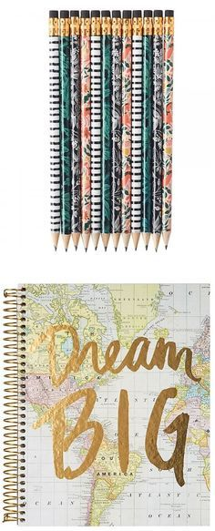 "13. Cute Notebook & Pencils – Most women I know are big list makers. It's a fantastic way to keep track of your ""to do's"" and the feeling of crossing something off as DONE is amazing. Gift your friends a cute notebook and set of pencils. 