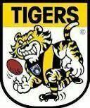 Old Richmond logo Richmond Football Club, Mj, Tigers, Leadership, Blankets, Boards, Cakes, Yellow, Logos