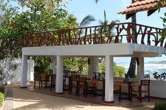 Beachrestaurant Sign of Life Resort Ayurveda, Sri Lanka, Signs Of Life, Pergola, Outdoor Structures, Outdoor Pergola