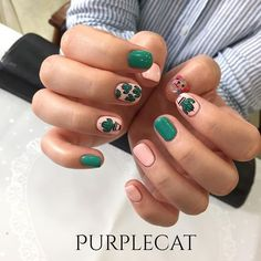 Having short nails is extremely practical. The problem is so many nail art and manicure designs that you'll find online Nailart, Nails 2018, Trendy Nail Art, Nail Patterns, Super Nails, Simple Nails, Love Nails, Manicure And Pedicure, Diy Nails