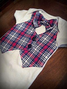 Baby Bow Tie Onesie