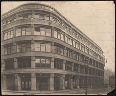 Geschäftshaus Junkernstrasse, Bresslau Polen, Hans Poelzig 1911