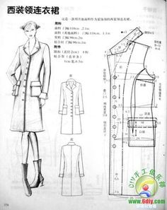 Best 12 modelist kitapları: different design systems Coat Patterns, Dress Sewing Patterns, Blouse Patterns, Clothing Patterns, Collar Pattern, Jacket Pattern, Linen Dress Pattern, Sewing Collars, Costura Fashion