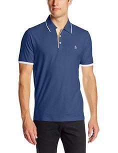 Original Penguin Men's Tri-Color Mearl Polo Shirt, Monaco Blue, Large Original Penguin http://www.amazon.com/dp/B00J8FIJWE/ref=cm_sw_r_pi_dp_EhQVtb00S04YM056