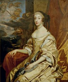Portrait of Henriette of England, Duchess of Orléans seated in a landscape from the studio of Sir Peter Lely - Windsor Beauties - Wikipedia, the free encyclopedia
