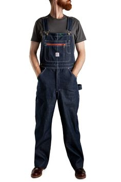 Pointer Brand Indigo Denim High Back Overalls - Unwashed – LC King Mfg Halloween Costumes With Overalls, Overalls Fashion, Pantsuits For Women, Work Wear, Indigo, Pants For Women, Denim, How To Wear, King