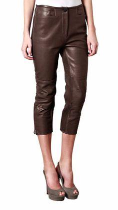 20 Best Leather Capri images | Leather, Capri, Womens capris