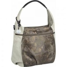 Bag casual Hobo olive-beige